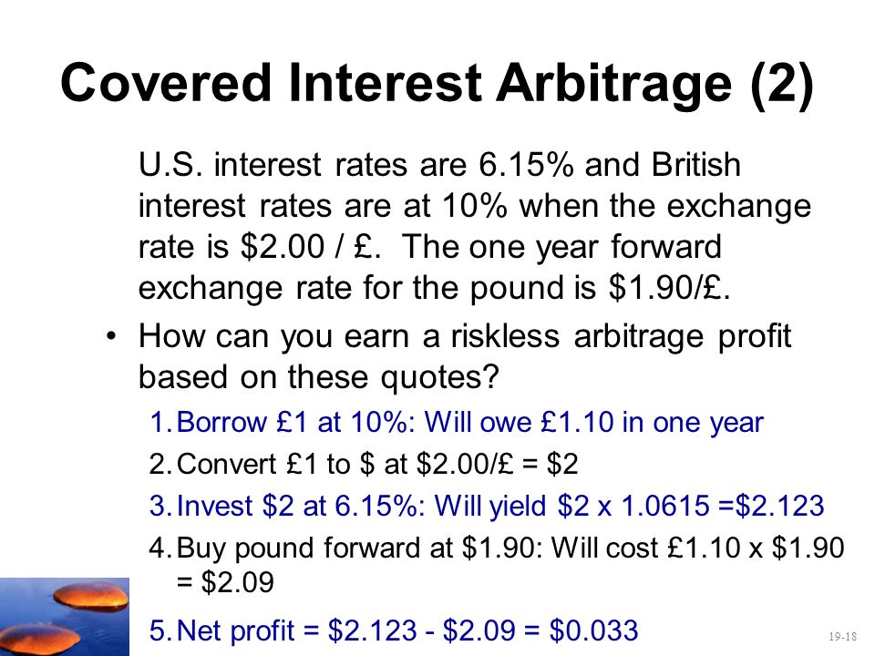 Covered Interest Arbitrage (2)