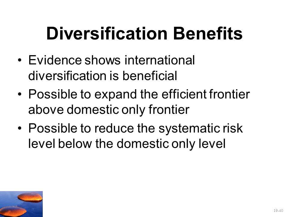 Diversification Benefits
