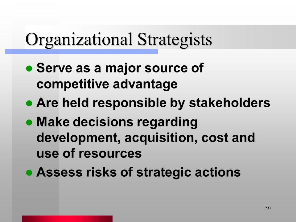 Organizational Strategists