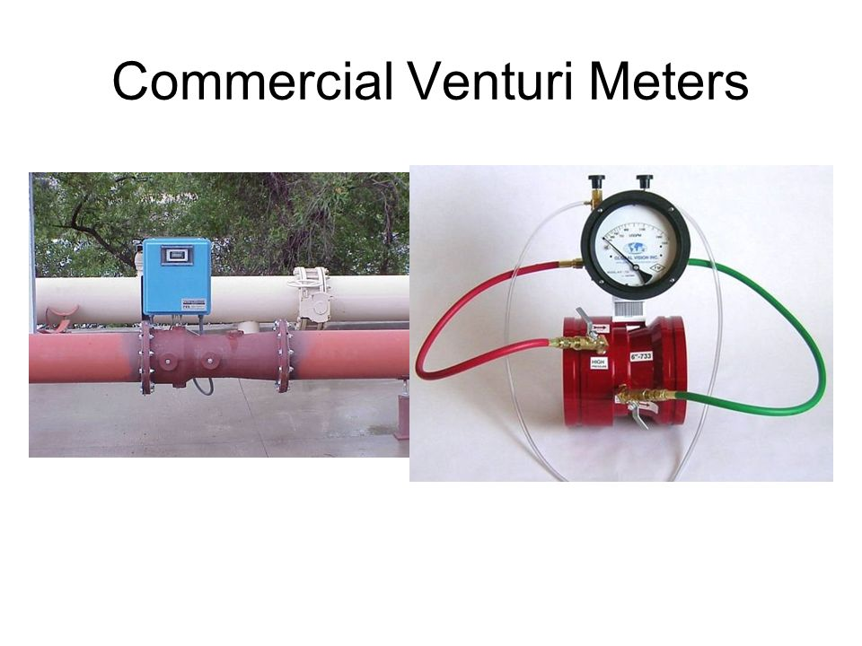Commercial Venturi Meters