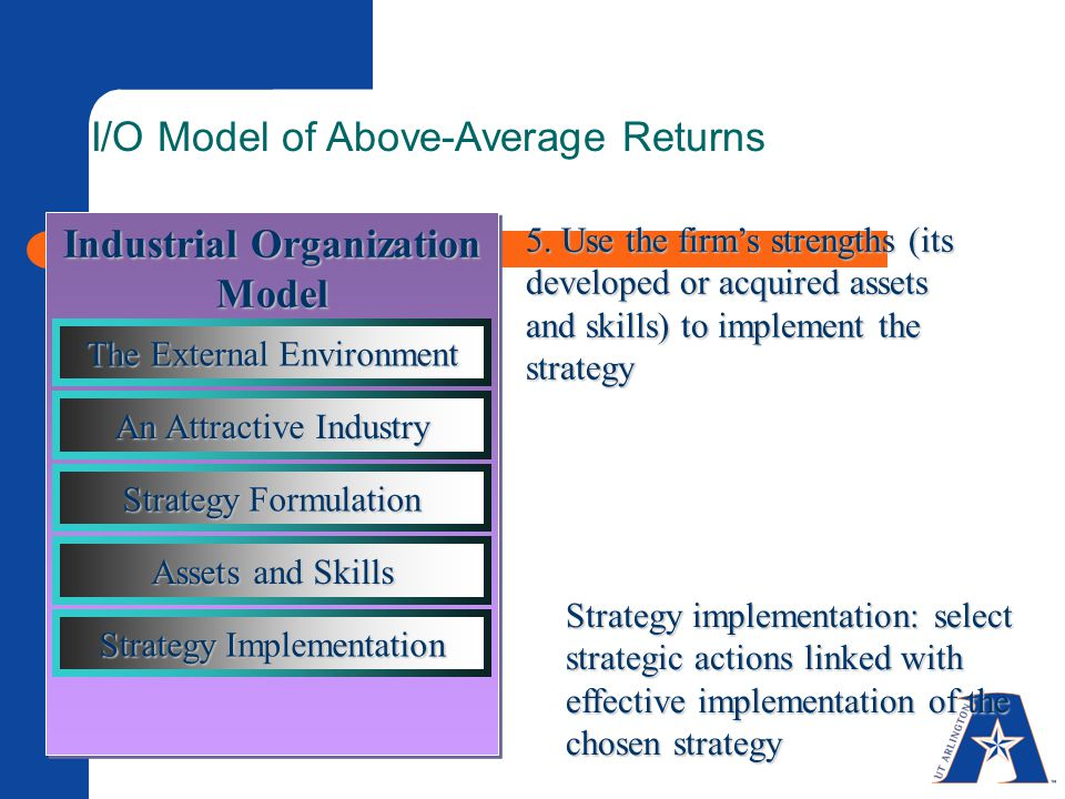 Industrial Organization Model