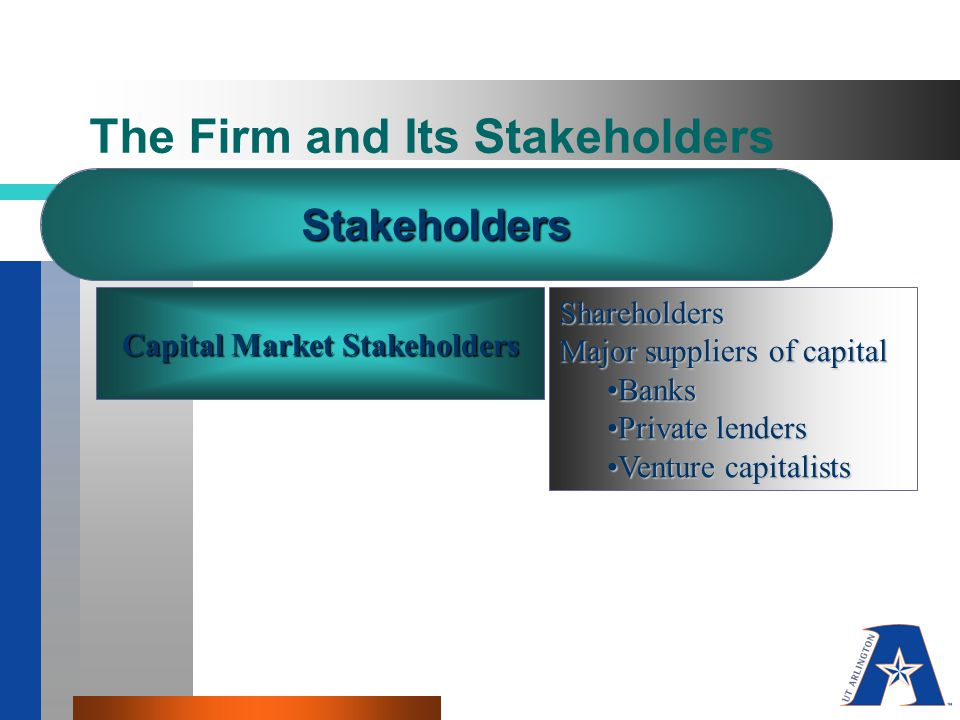 The Firm and Its Stakeholders