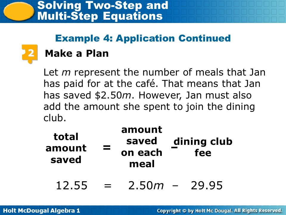 amount saved on each meal