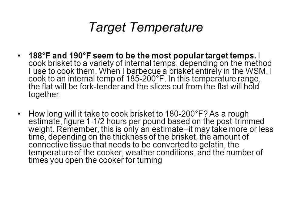 Target Temperature