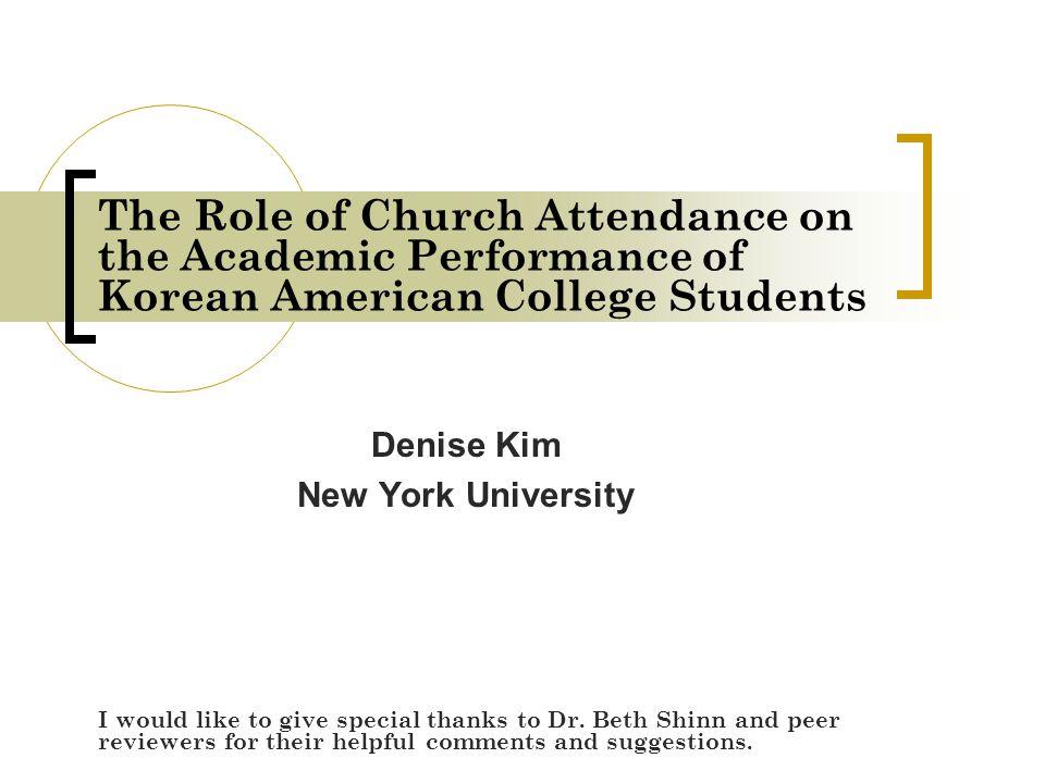 Denise Kim New York University