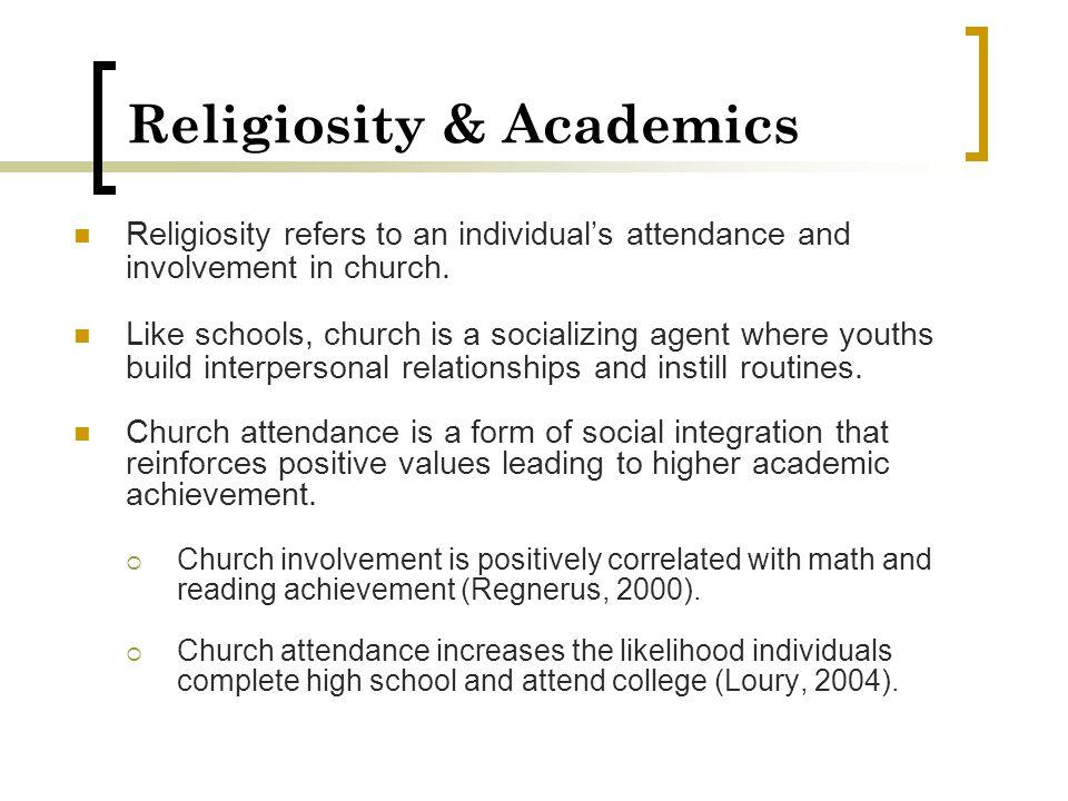 Religiosity & Academics