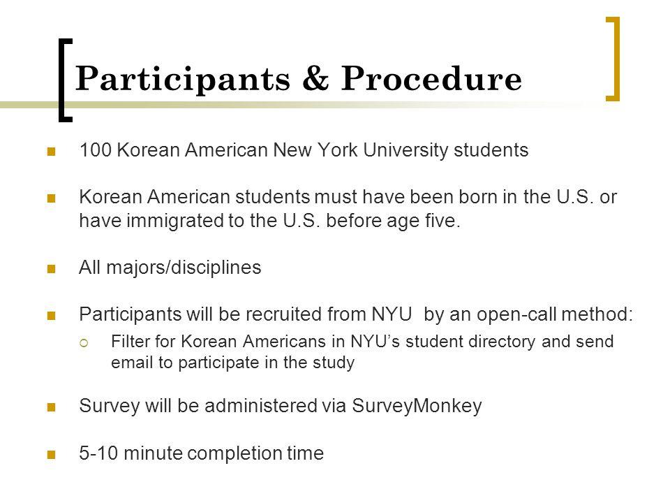 Participants & Procedure