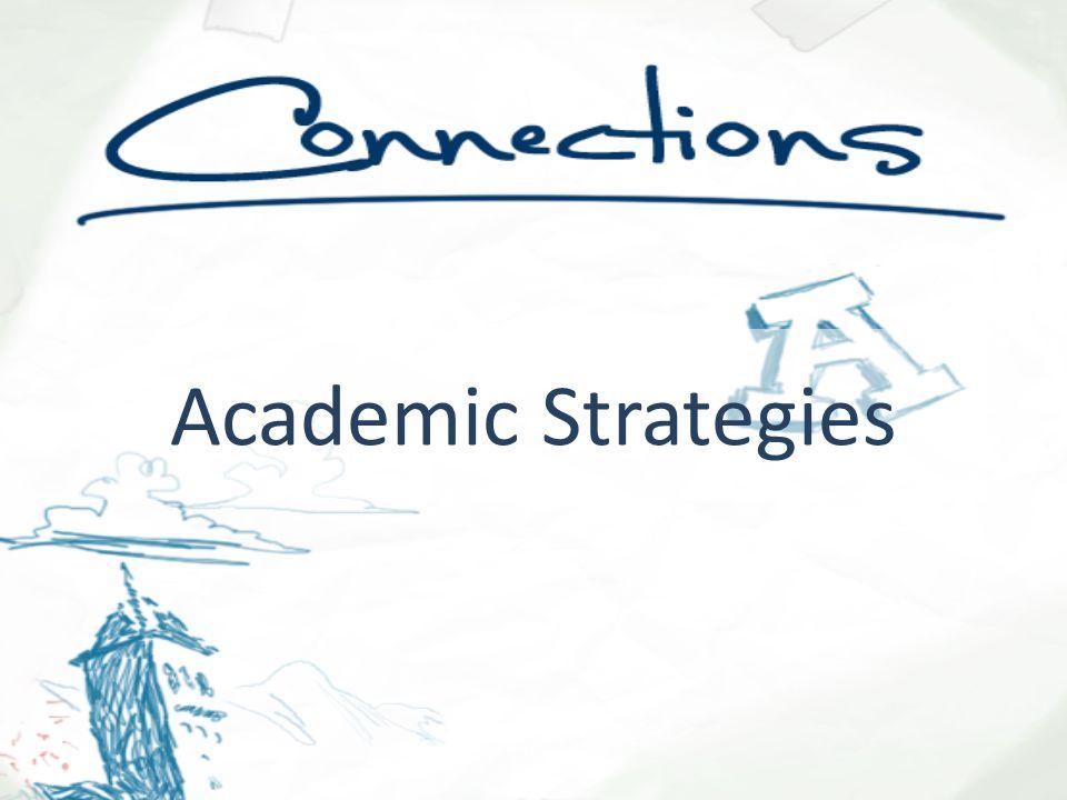 Academic Strategies Background art courtesy of USU FACT Center