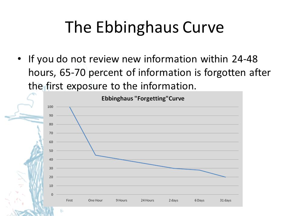 The Ebbinghaus Curve