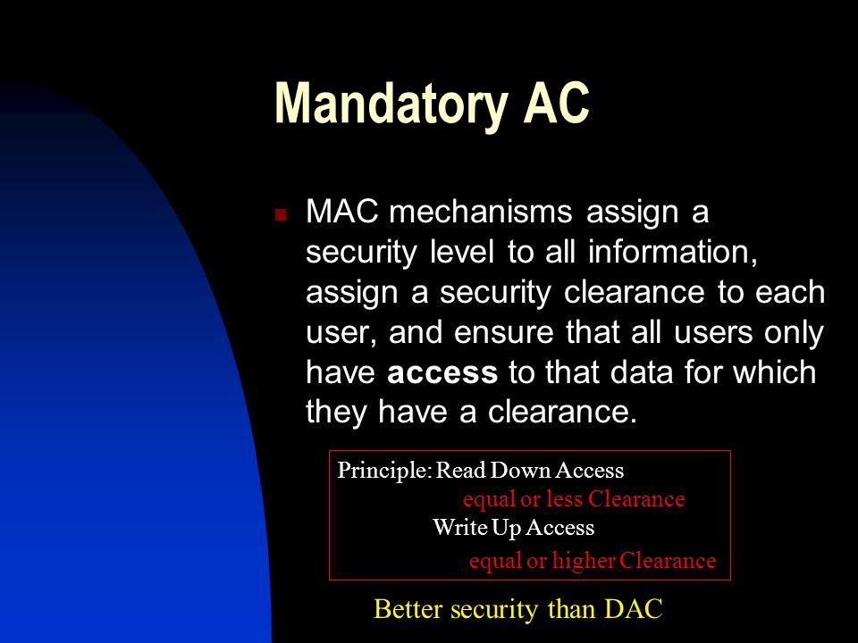 Mandatory AC