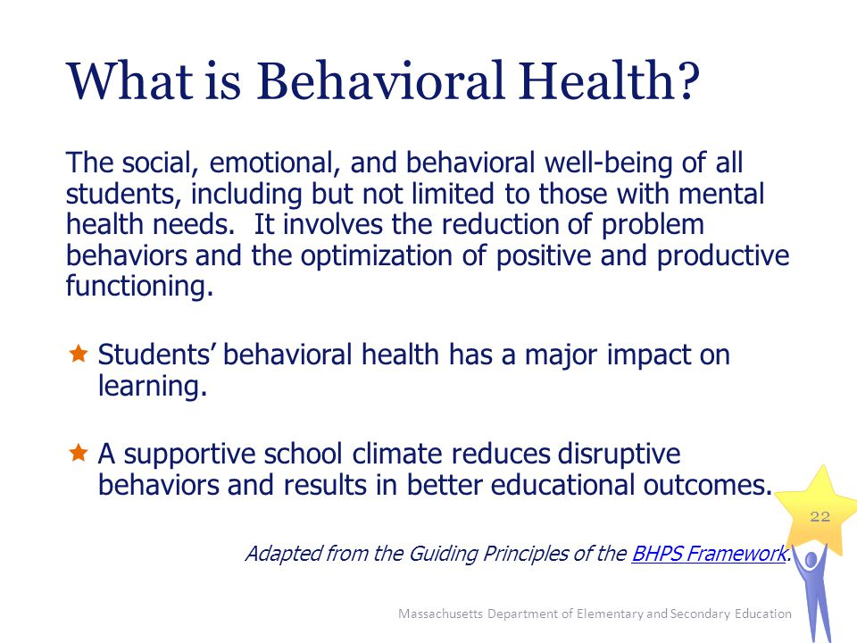 What is Behavioral Health