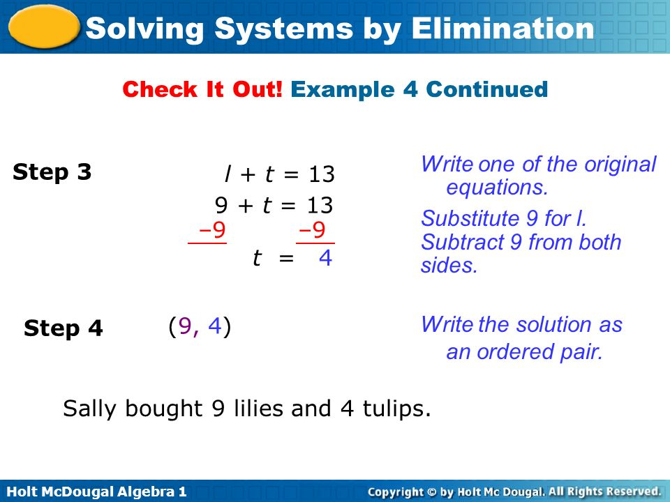 Check It Out! Example 4 Continued