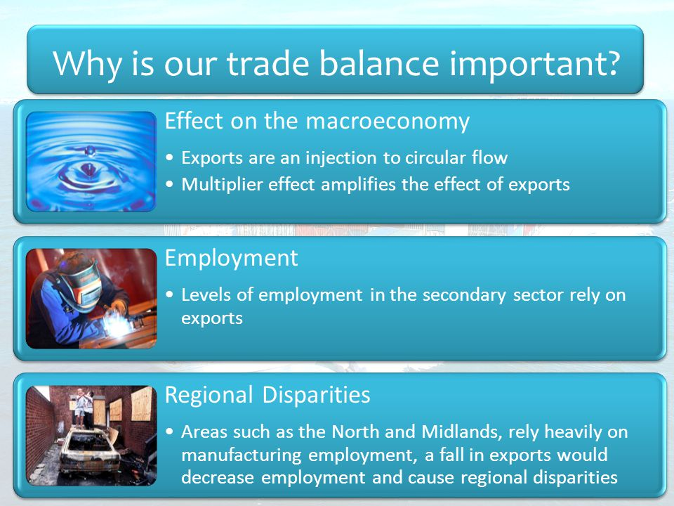 Why is our trade balance important