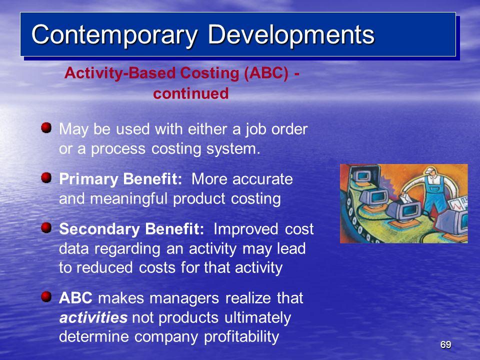 Contemporary Developments