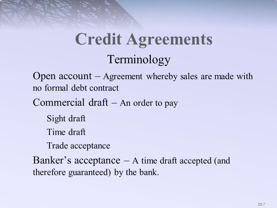 Credit Agreements Solarfm