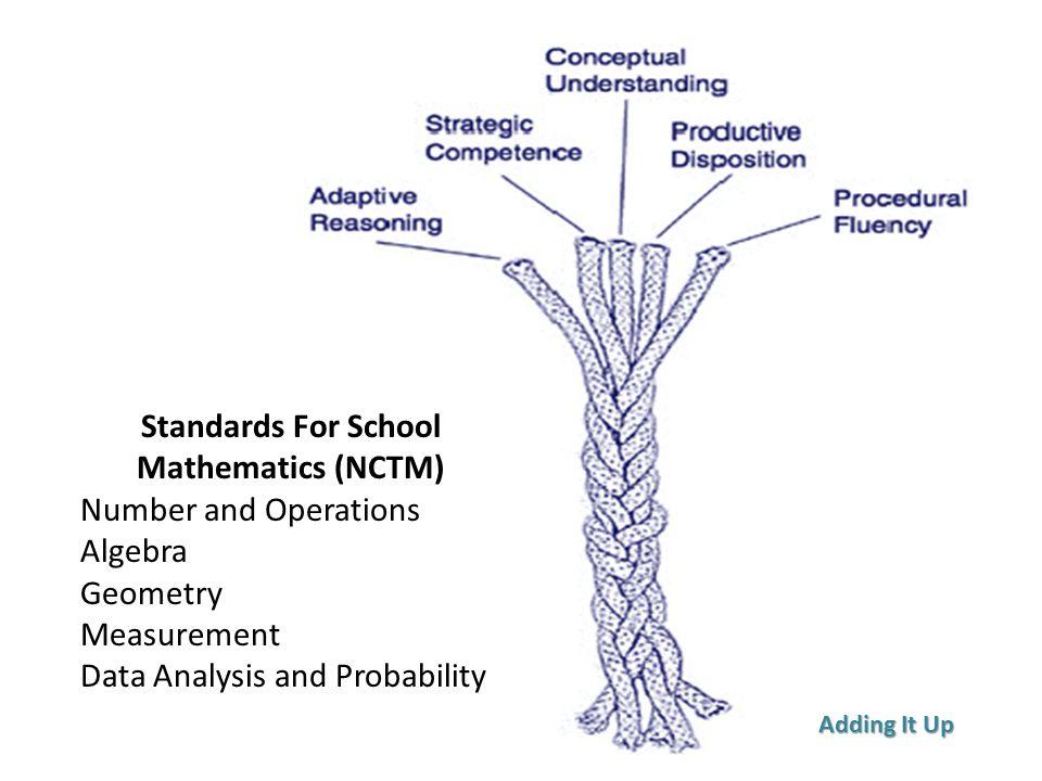 Standards For School Mathematics (NCTM)