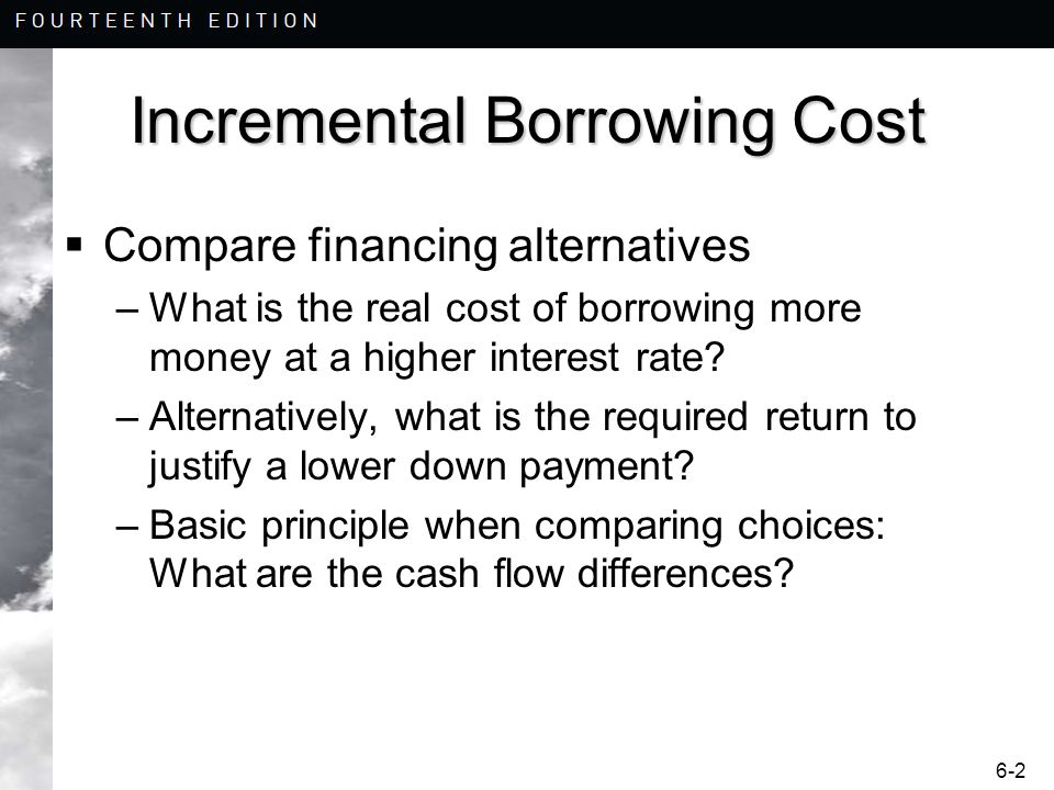 borrowing cost Objective scope 1 – 3 definitions 4 – 6 borrowing costs – benchmark treatment 7 – 9 recognition 7 – 8 disclosure 9 borrowing costs – allowed alternative treatment 10-29 recognition 10-28 borrowing costs eligible for capitalisation 13-18 excess of the carrying amount of the.