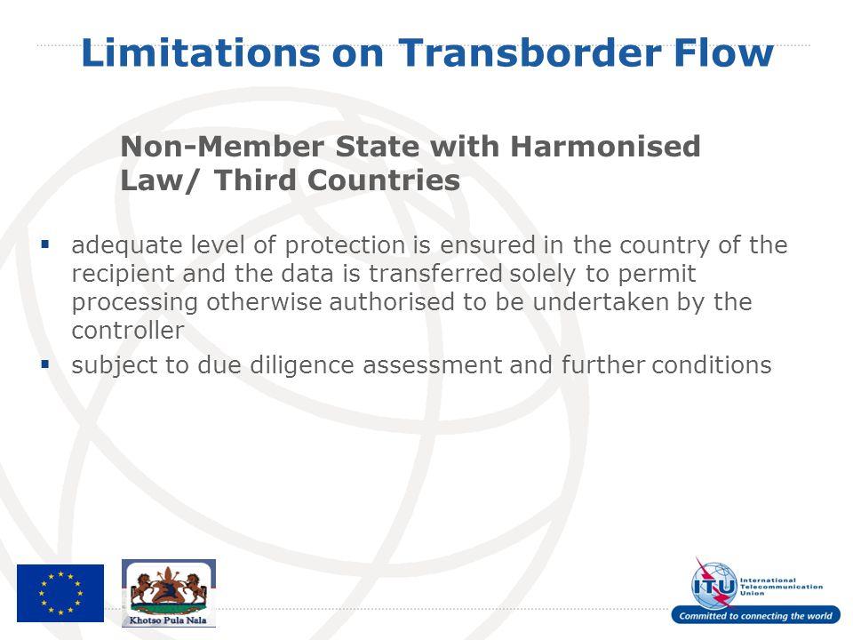 Limitations on Transborder Flow