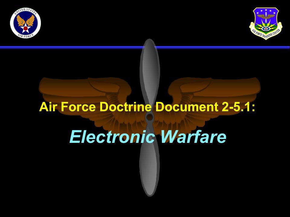 Air Force Doctrine Document 2-5.1: Electronic Warfare