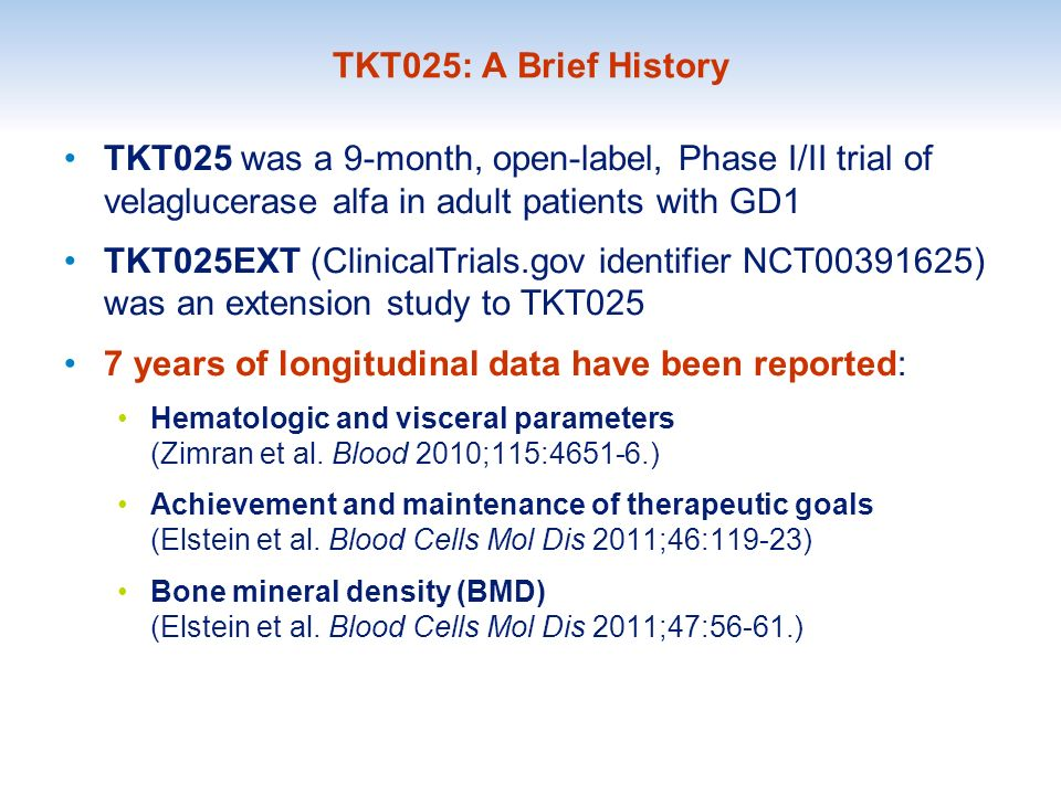 7 years of longitudinal data have been reported: