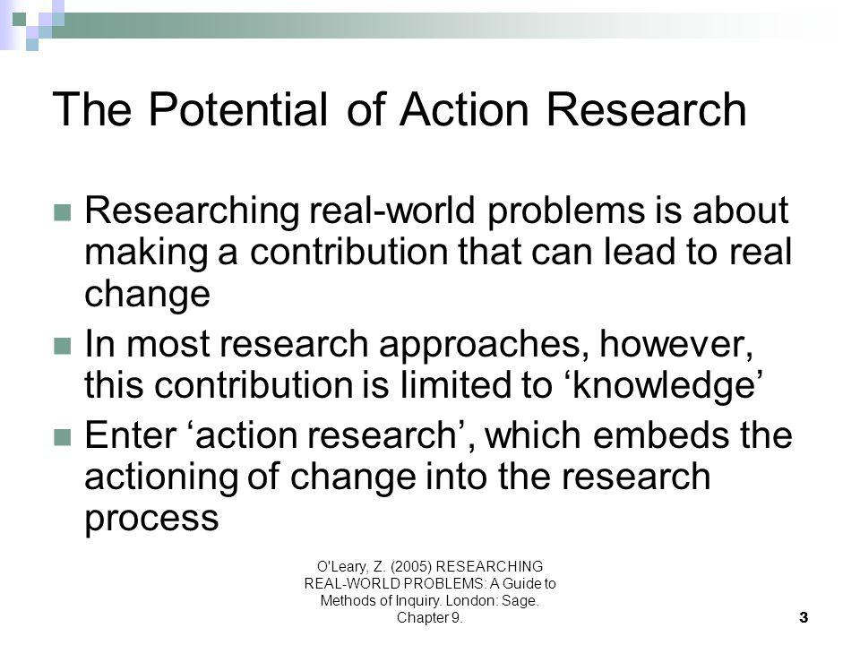 The Potential of Action Research
