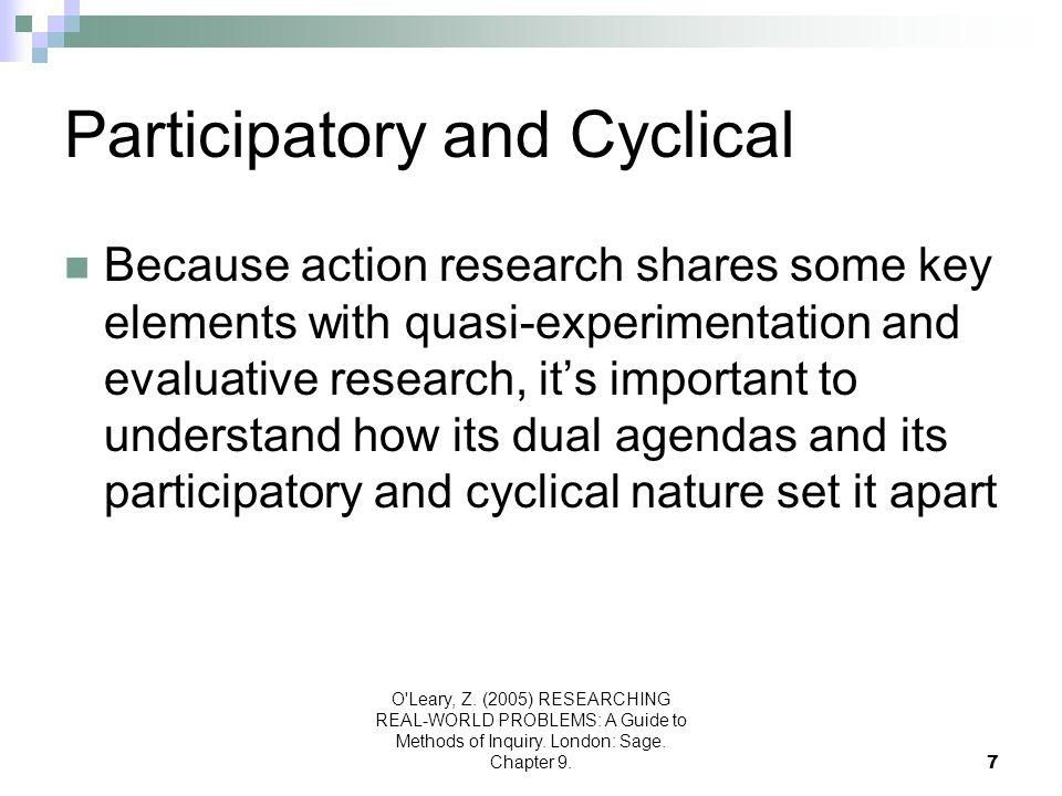 Participatory and Cyclical