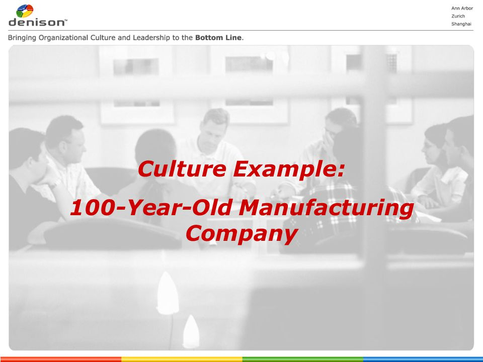 100-Year-Old Manufacturing Company