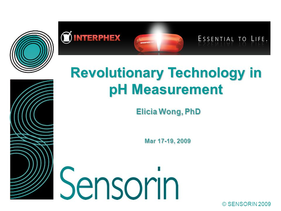 Revolutionary Technology in pH Measurement