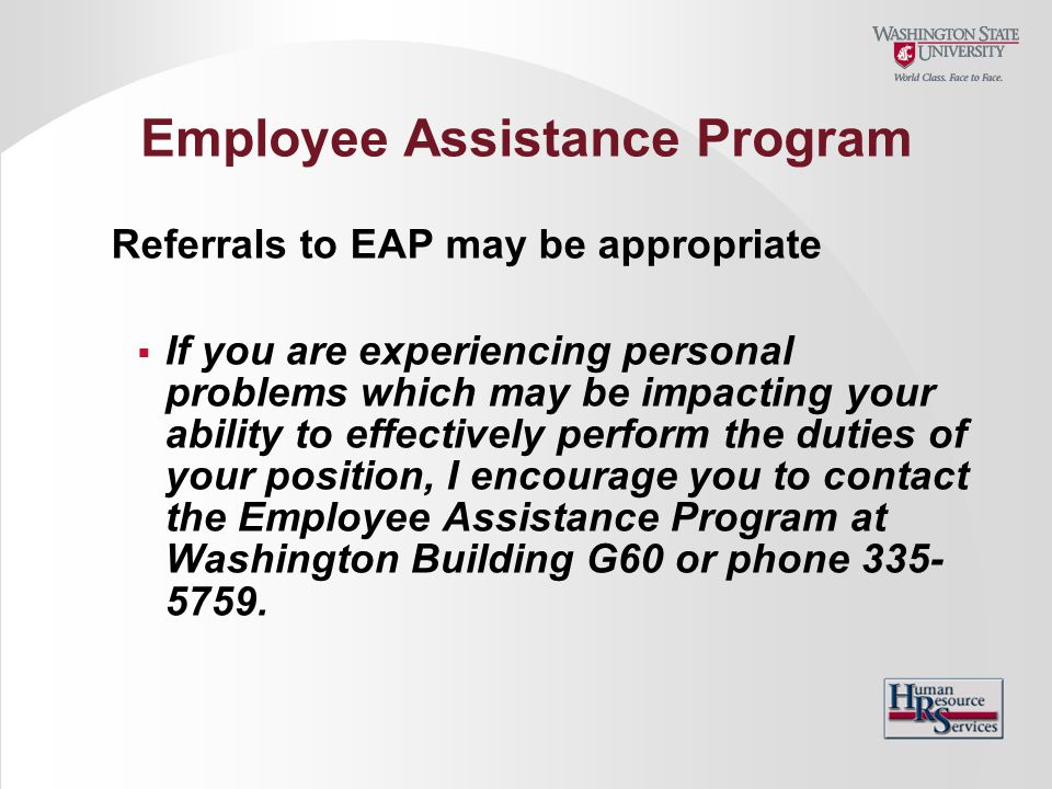 how to create an employee assistance program