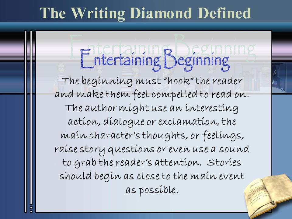 The Writing Diamond Defined