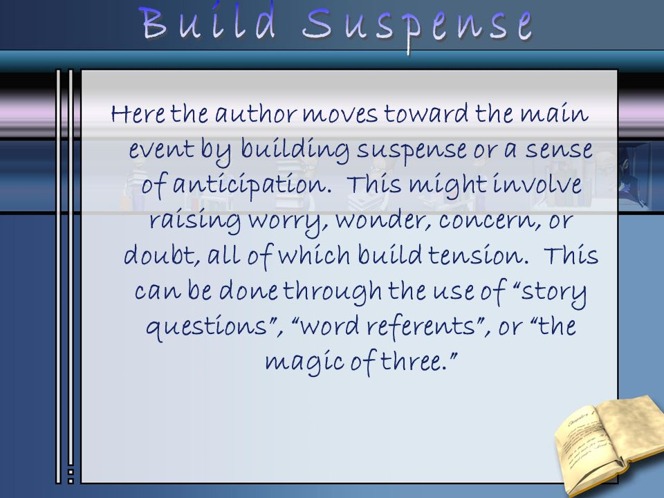 Build Suspense