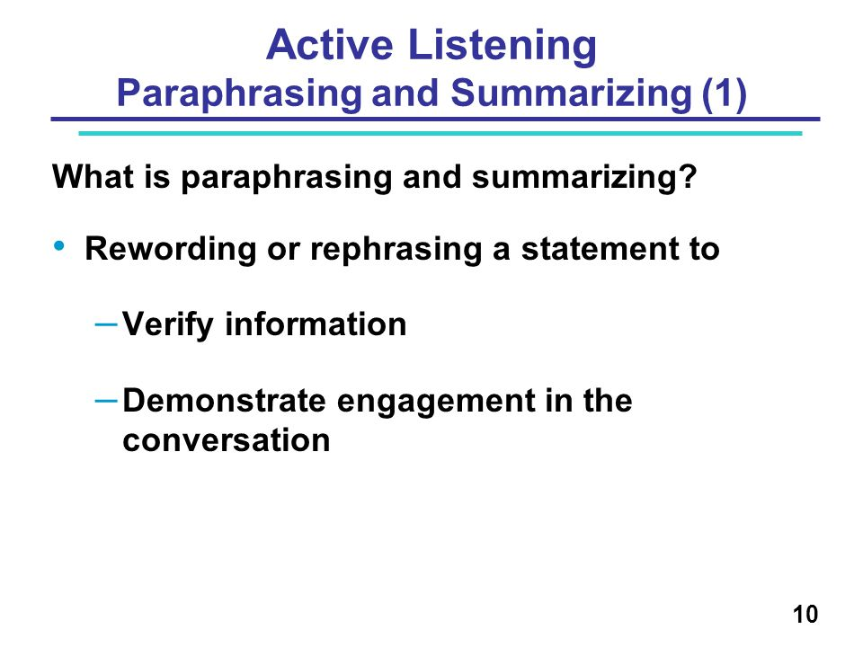 Active Listening Paraphrasing and Summarizing (1)