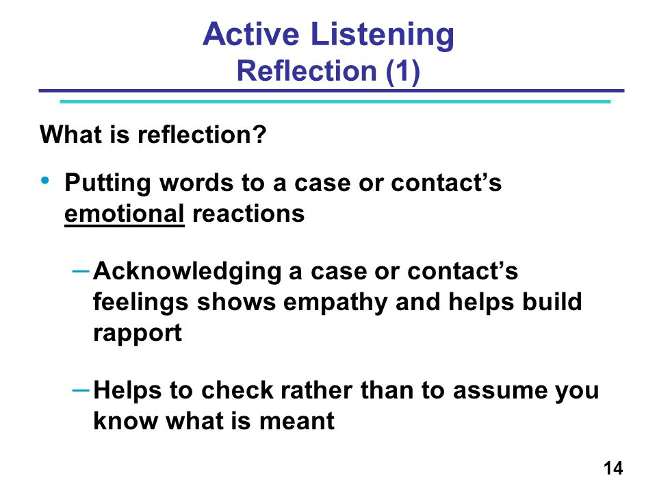 Active Listening Reflection (1)