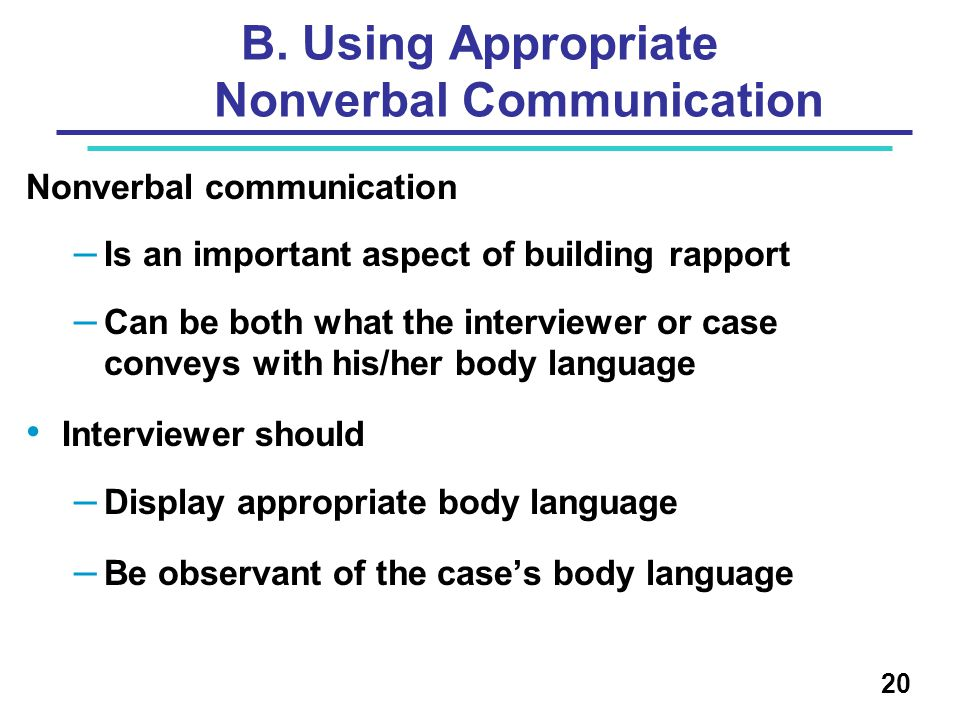 Nonverbal Communication: The Importance of Eye Contact