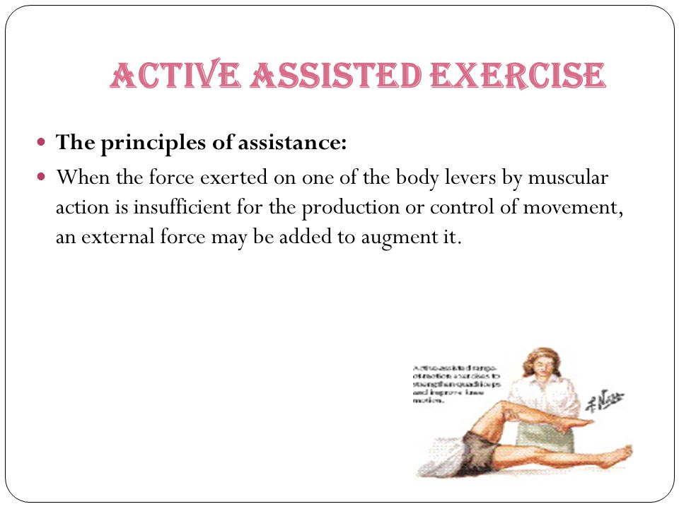 Active ASSISTED EXERCISE
