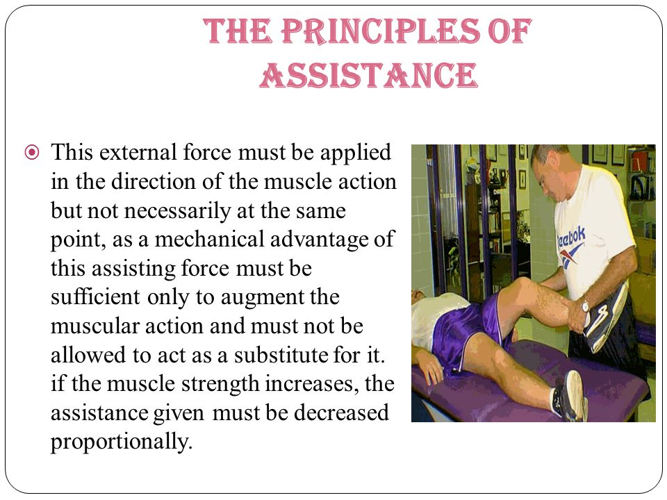 The principles of assistance