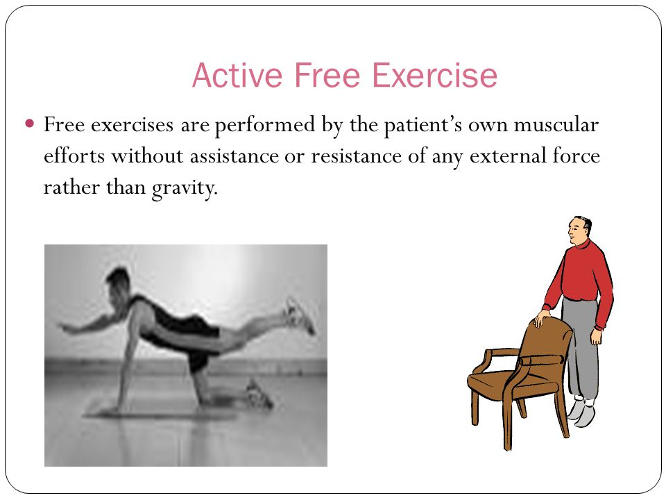 Active Free Exercise