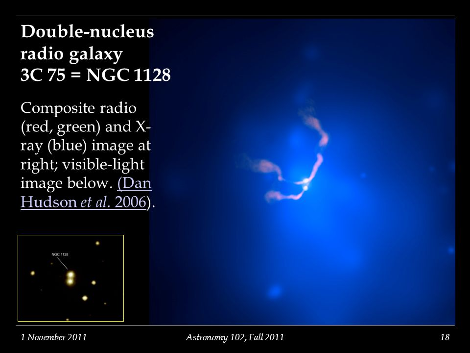Double-nucleus radio galaxy 3C 75 = NGC 1128