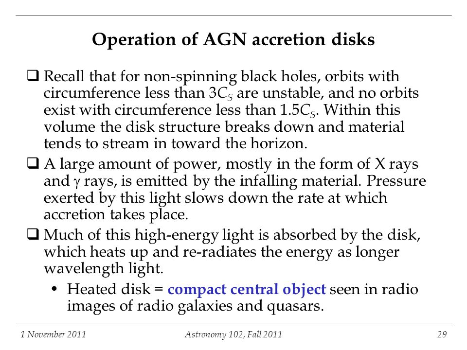 Operation of AGN accretion disks