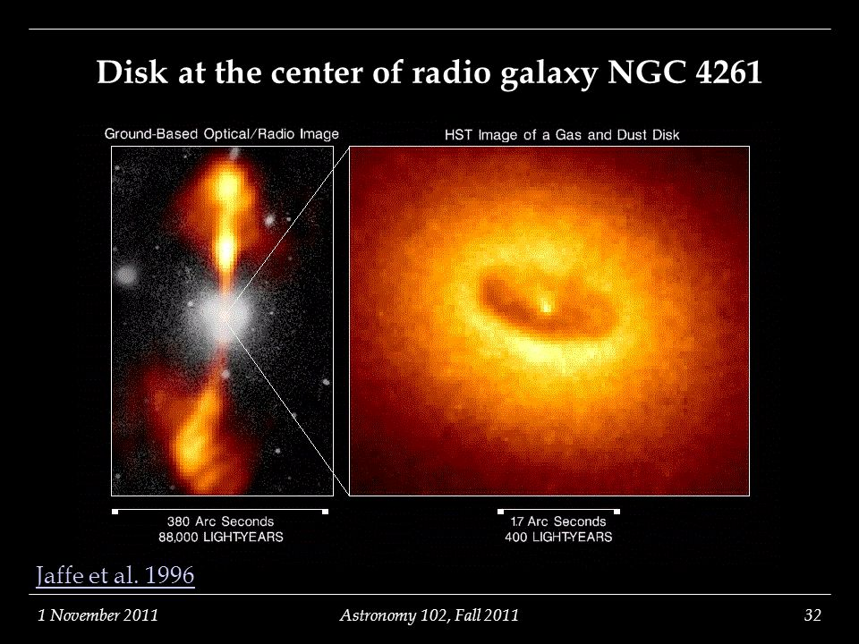 Disk at the center of radio galaxy NGC 4261