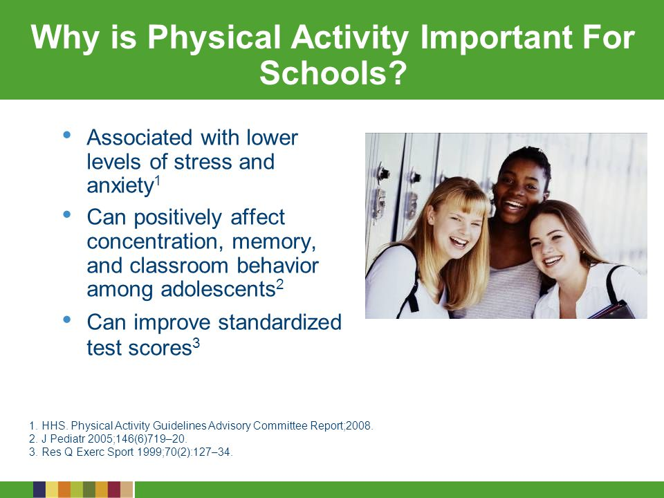 Why is Physical Activity Important For Schools