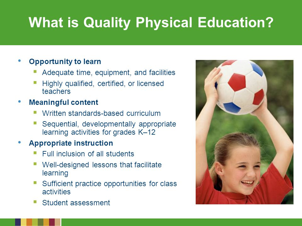 What is Quality Physical Education