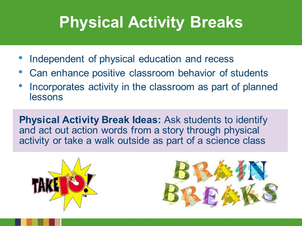 Physical Activity Breaks