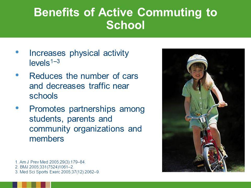 Benefits of Active Commuting to School