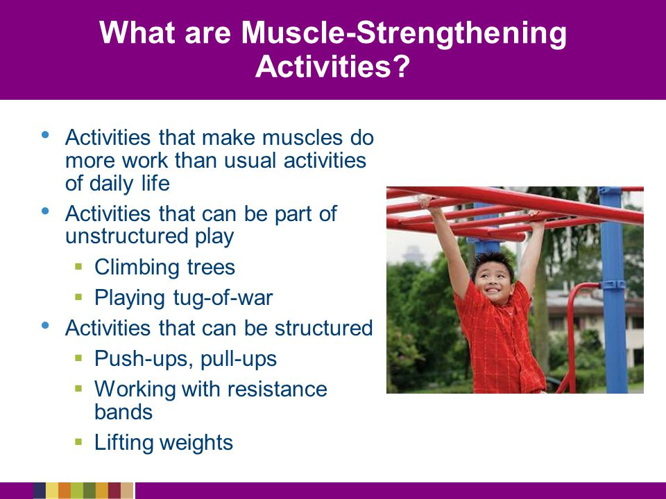 What are Muscle-Strengthening Activities
