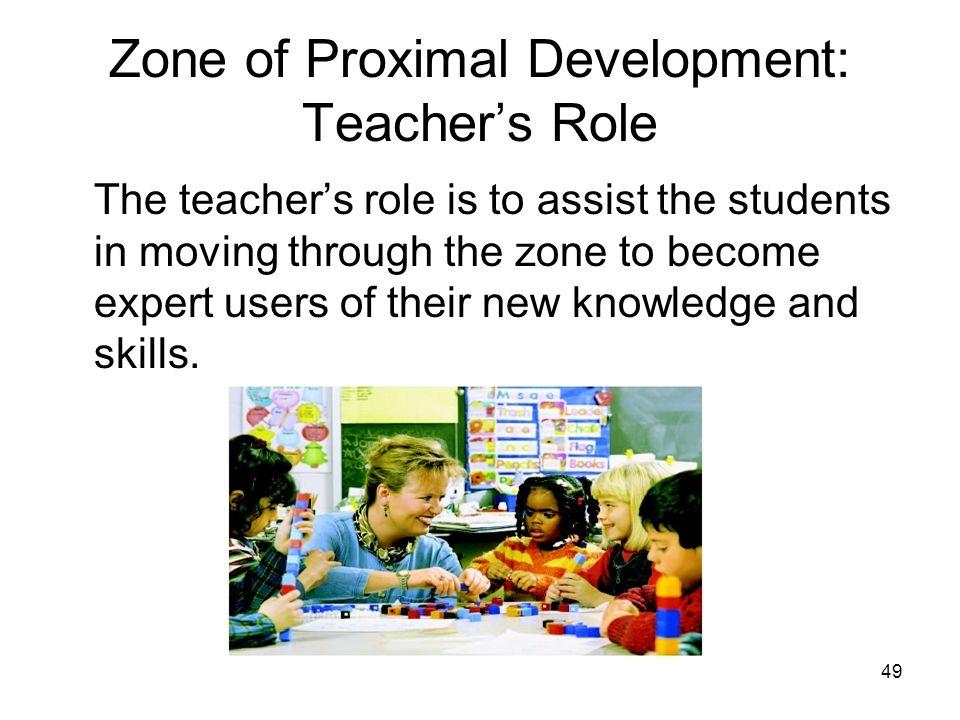 Zone of Proximal Development: Teacher's Role