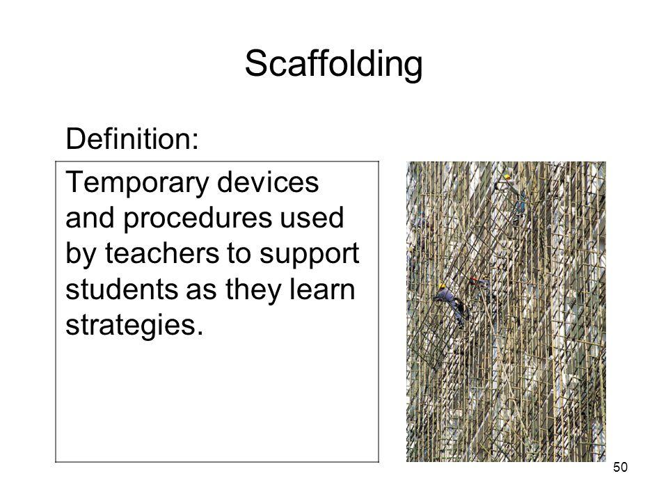 Scaffolding Definition: