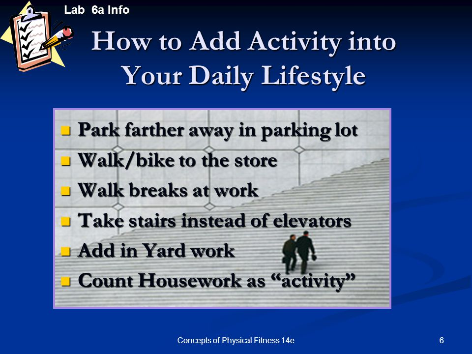 How to Add Activity into Your Daily Lifestyle