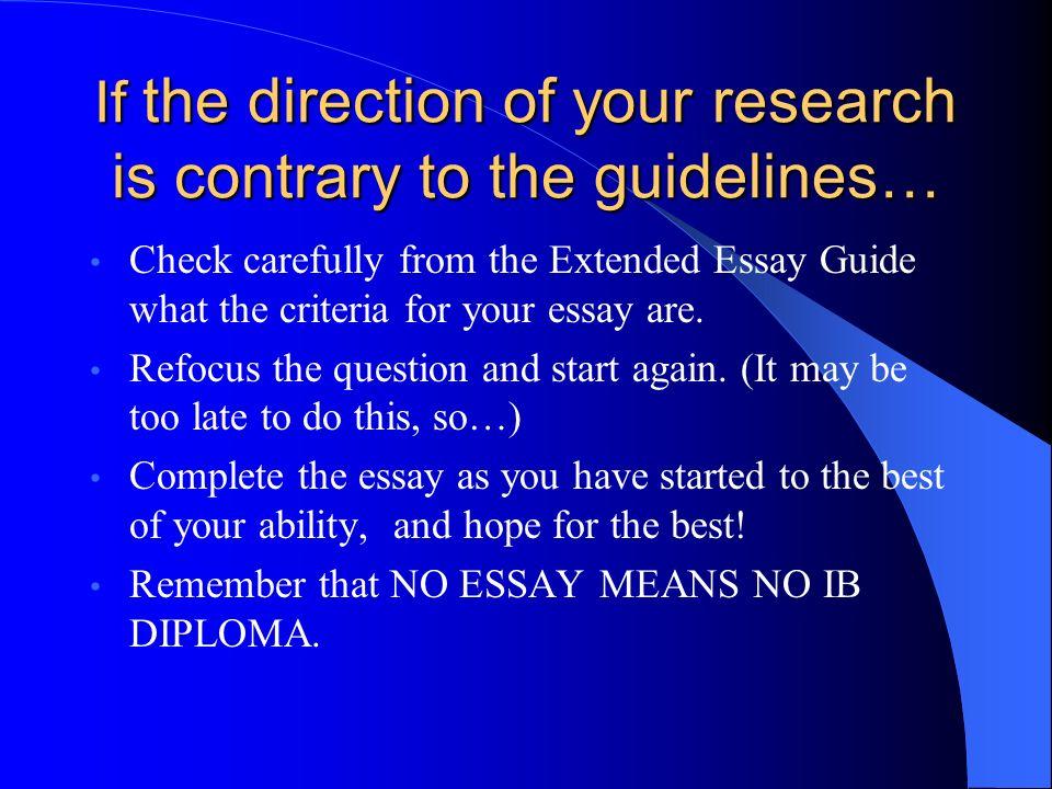 discipline essay problem