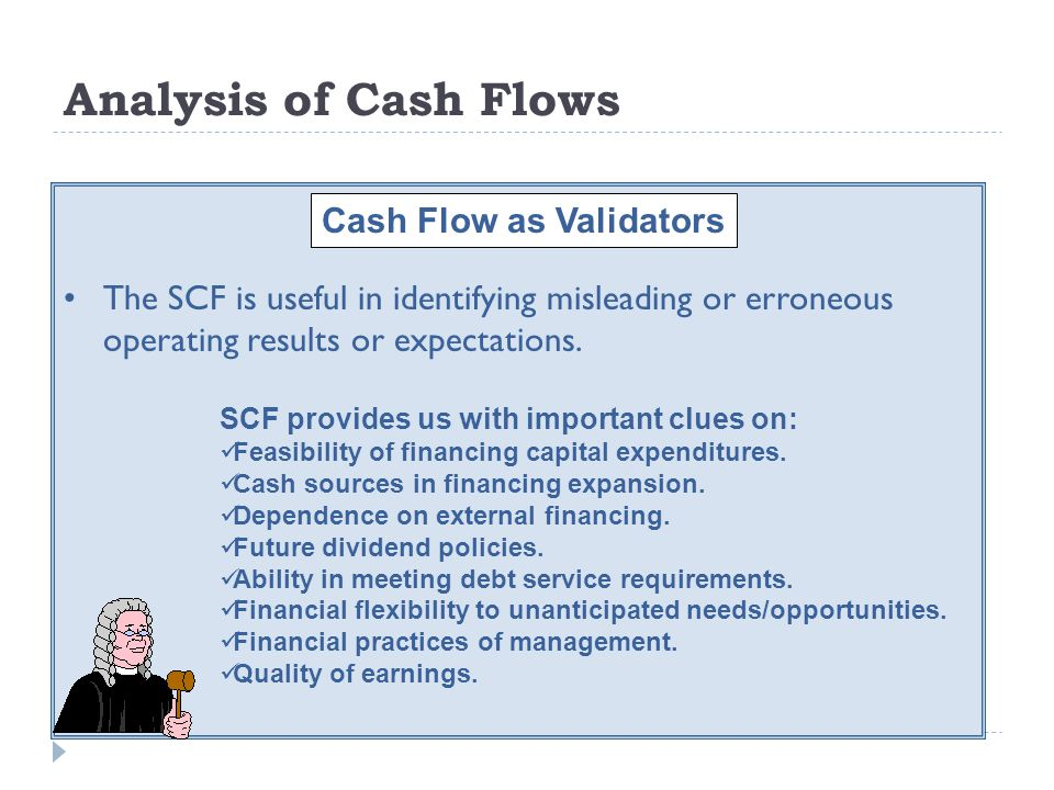Cash Flow as Validators